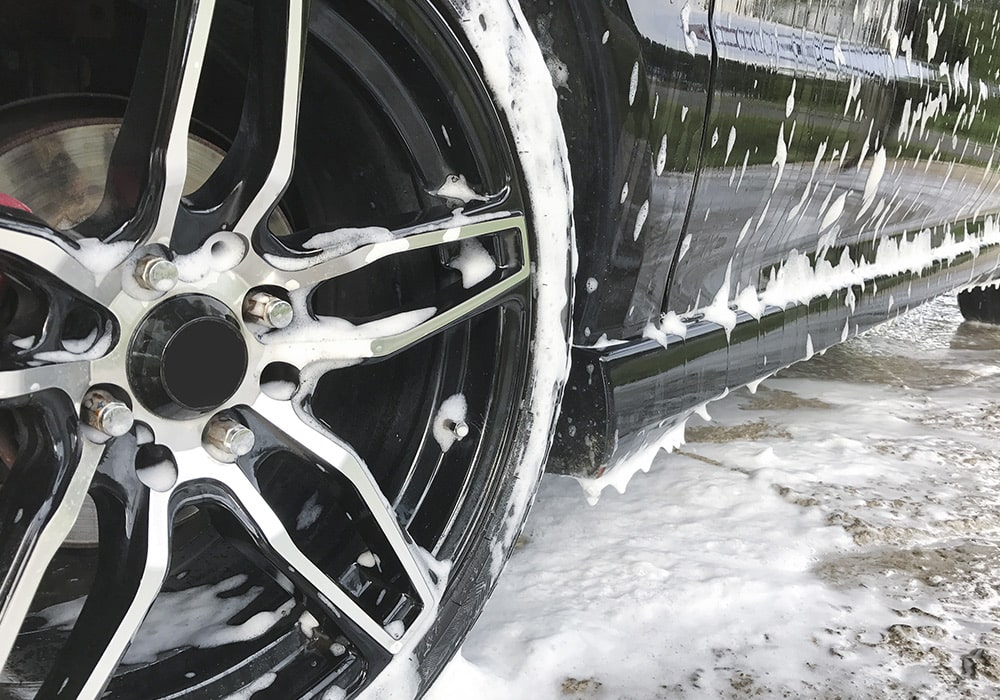 Car Rim Wash